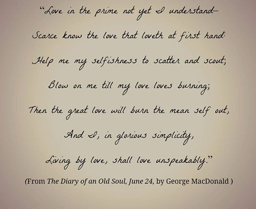 George MacDonald poem; blog.wonwithoutwords.com