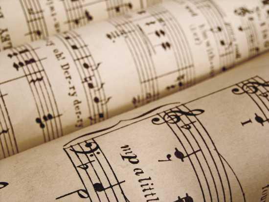 music score s