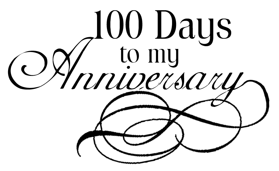 100 days logo