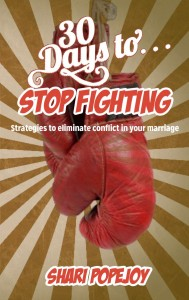 Discounted E-book 30 Days to Stop Fighting