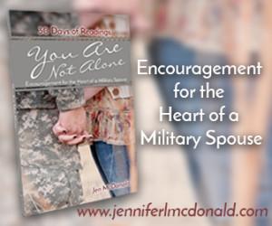 You Are Not Alone; Jen McDonald