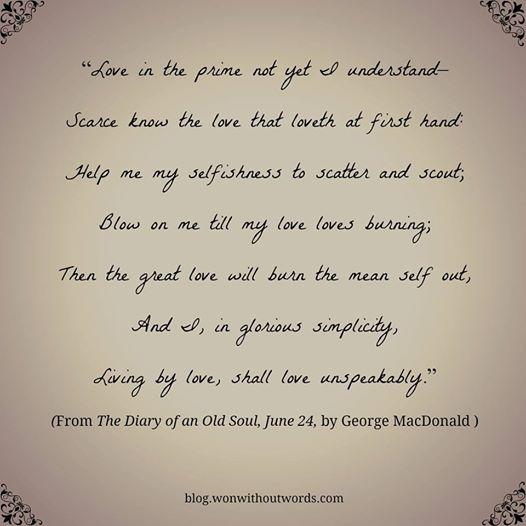 George MacDonald poem; blog.wonwithoutwords.com