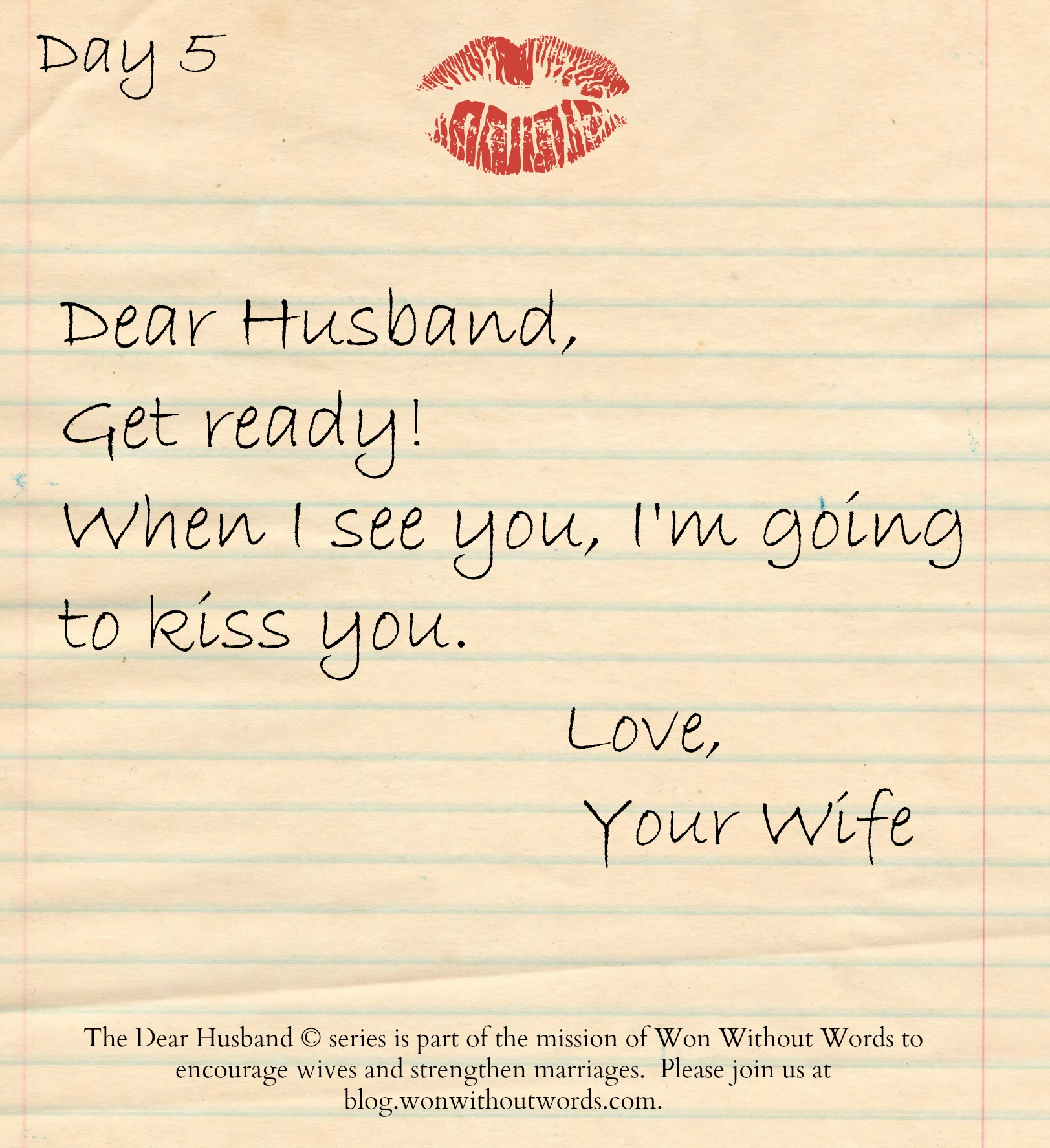 encouragement for wives;blog.wonwithoutwords.com