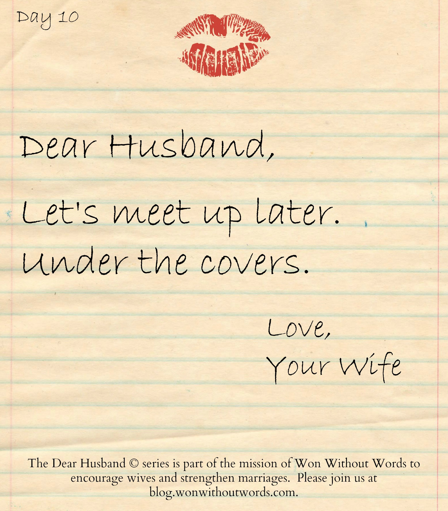 Let's Meet Up Later, Dear Husband